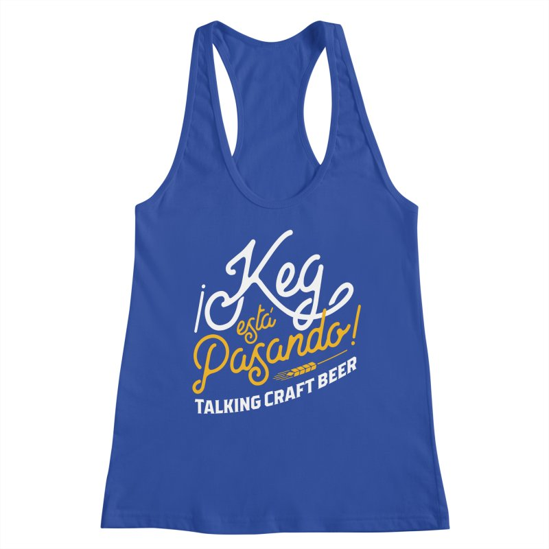 Kept Tagline (White) Women's Tank by Talking Craft Beer Shop