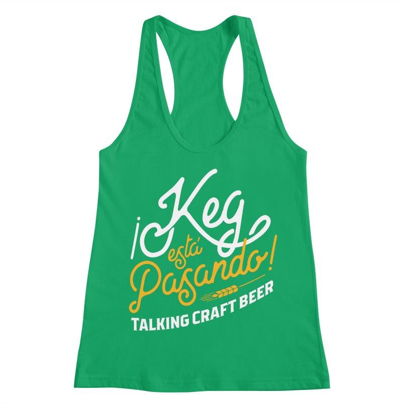 Kept Tagline (White) Women's Tank by Talking Craft Beer Shop