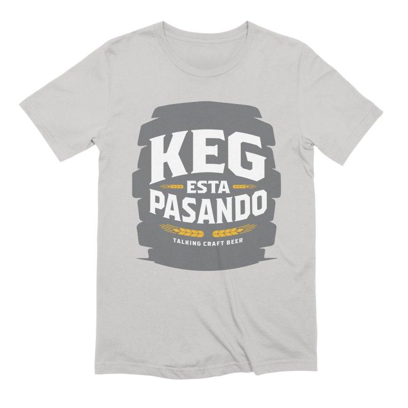 Kept Big Keg (W/O hop) Men's Extra Soft T-Shirt by Talking Craft Beer Shop