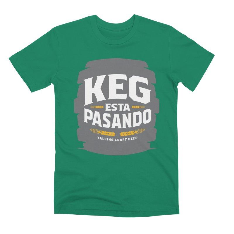 Kept Big Keg (W/O hop) Men's Premium T-Shirt by Talking Craft Beer Shop