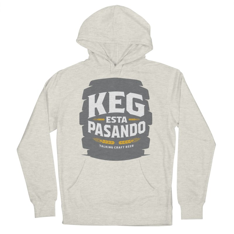Kept Big Keg (W/O hop) Men's French Terry Pullover Hoody by Talking Craft Beer Shop