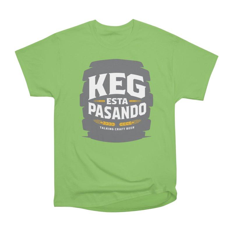 Kept Big Keg (W/O hop) Men's Heavyweight T-Shirt by Talking Craft Beer Shop