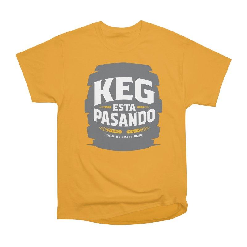 Kept Big Keg (W/O hop) Women's Heavyweight Unisex T-Shirt by Talking Craft Beer Shop