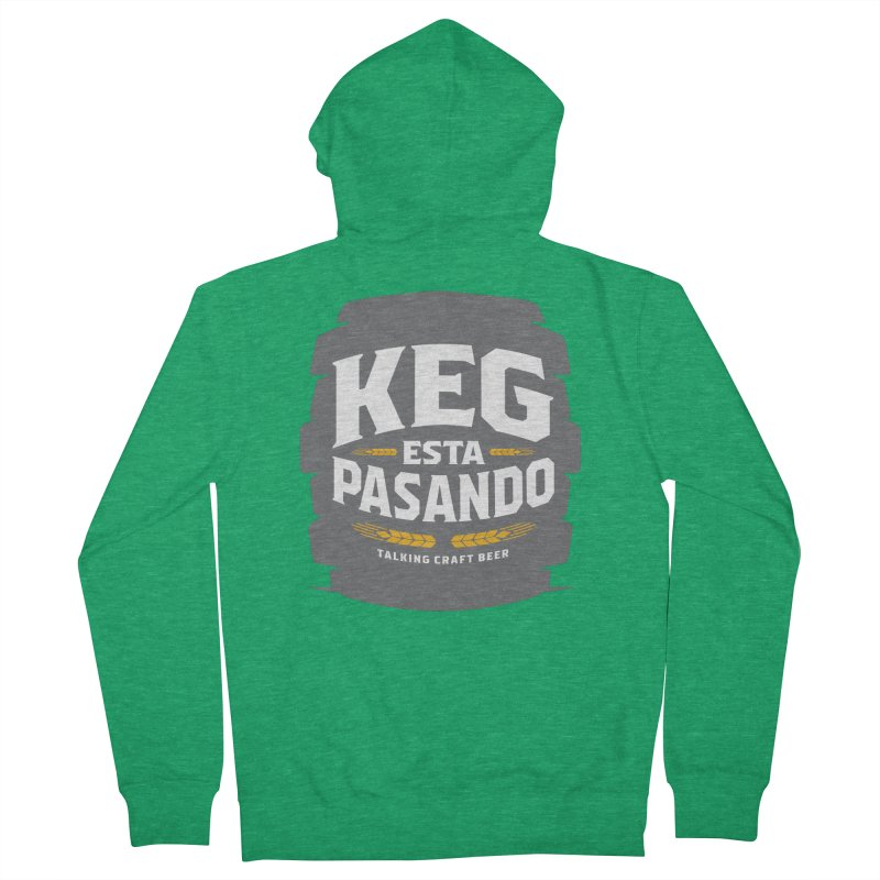 Kept Big Keg (W/O hop) Women's Zip-Up Hoody by Talking Craft Beer Shop