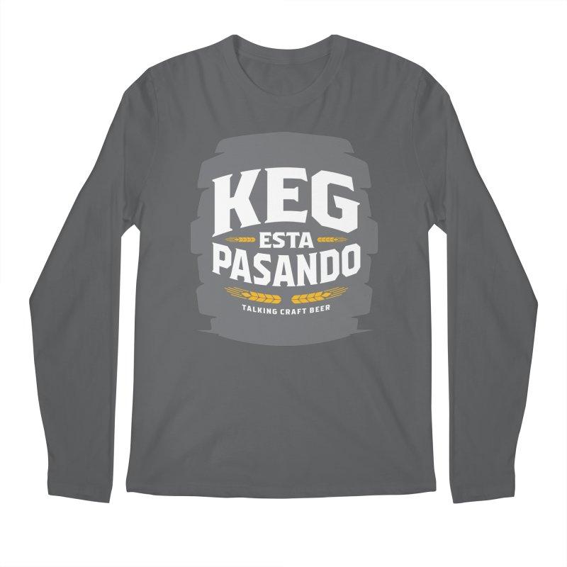 Kept Big Keg (W/O hop) Men's Longsleeve T-Shirt by Talking Craft Beer Shop