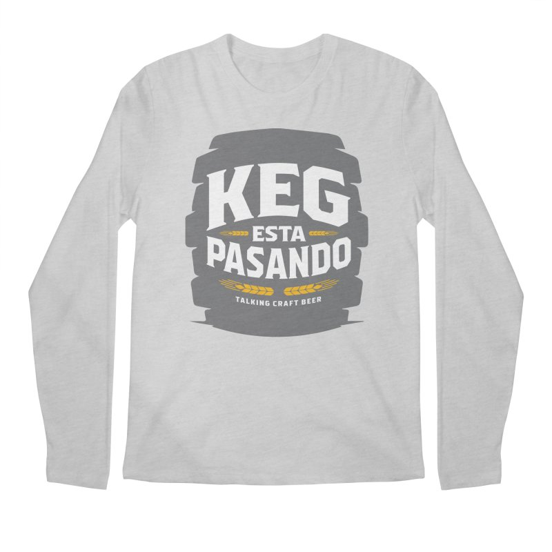 Kept Big Keg (W/O hop) Men's Regular Longsleeve T-Shirt by Talking Craft Beer Shop