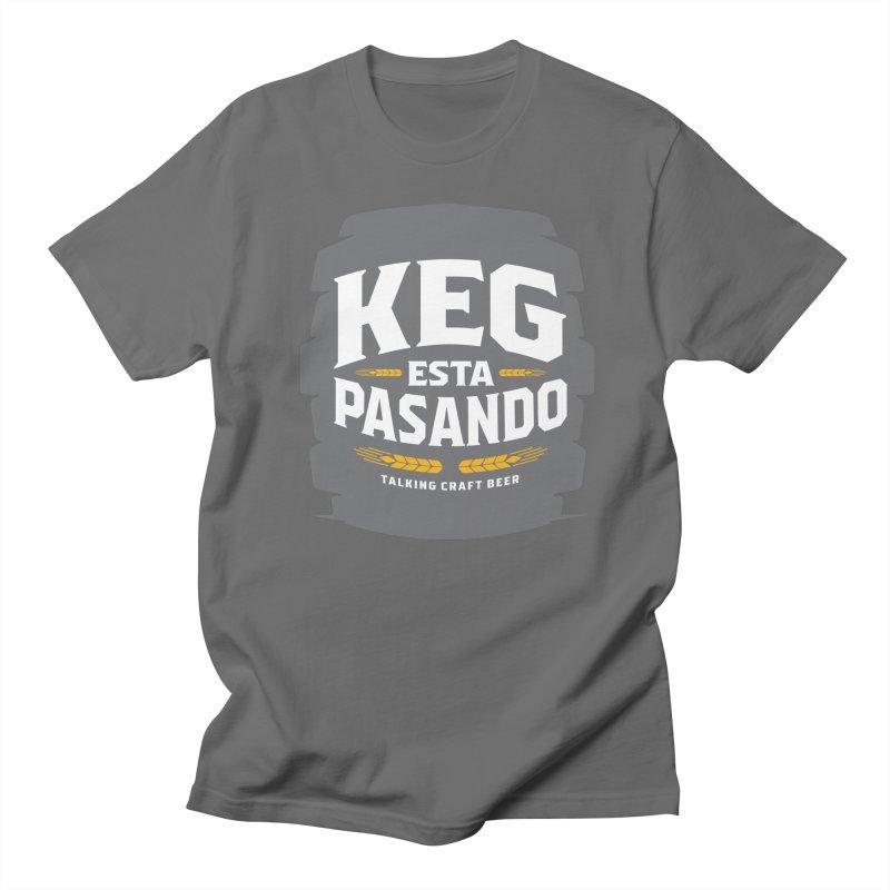 Kept Big Keg (W/O hop) Men's T-Shirt by Talking Craft Beer Shop