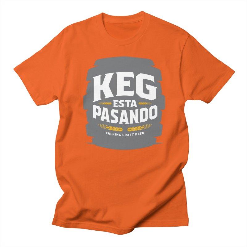 Kept Big Keg (W/O hop) Men's Regular T-Shirt by Talking Craft Beer Shop