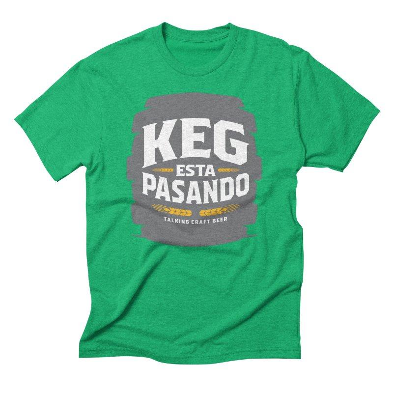 Kept Big Keg (W/O hop) Men's Triblend T-Shirt by Talking Craft Beer Shop