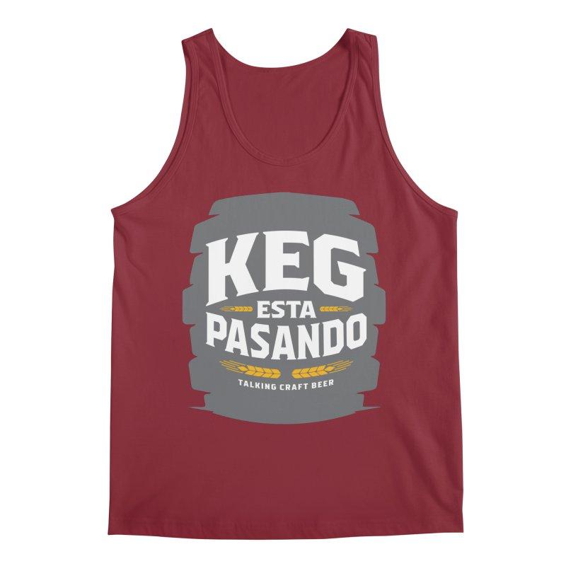 Kept Big Keg (W/O hop) Men's Tank by Talking Craft Beer Shop