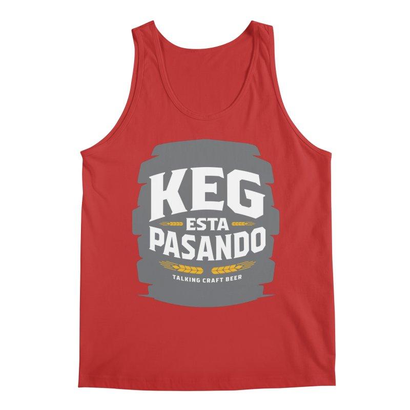 Kept Big Keg (W/O hop) Men's Regular Tank by Talking Craft Beer Shop