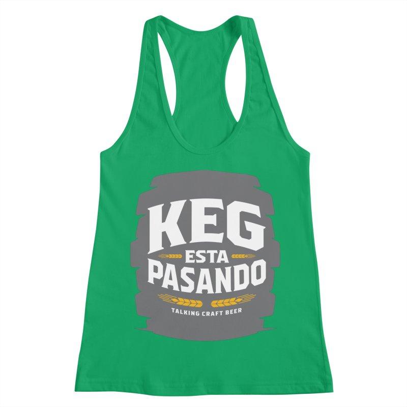 Kept Big Keg (W/O hop) Women's Tank by Talking Craft Beer Shop
