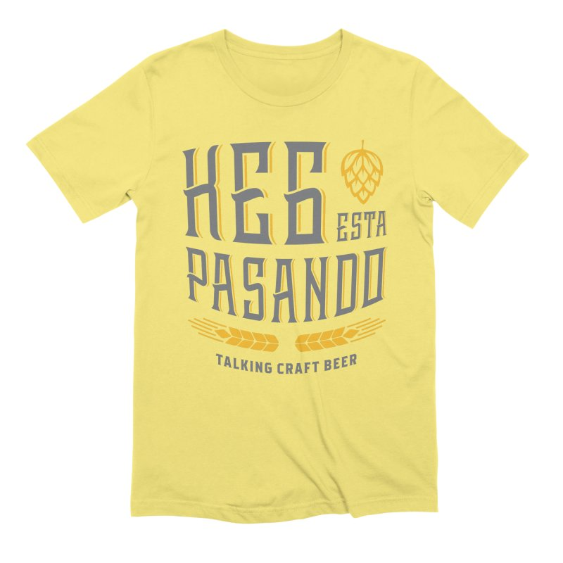 Kept Tagline (With hop) Men's T-Shirt by Talking Craft Beer Shop