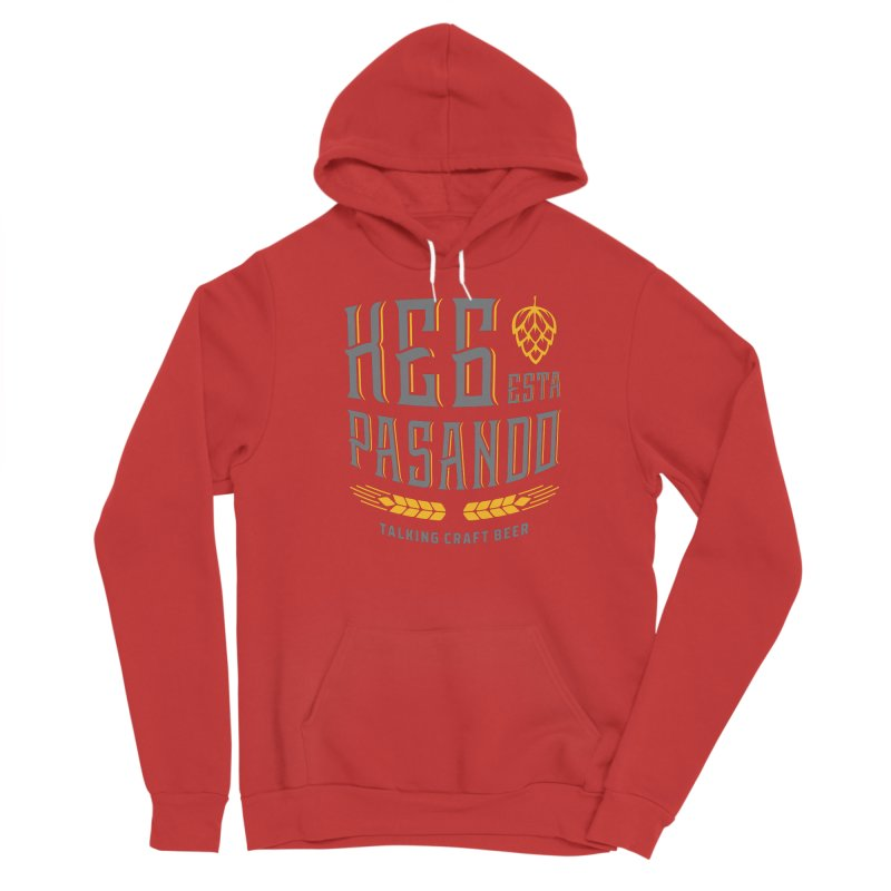 Kept Tagline (With hop) Women's Pullover Hoody by Talking Craft Beer Shop
