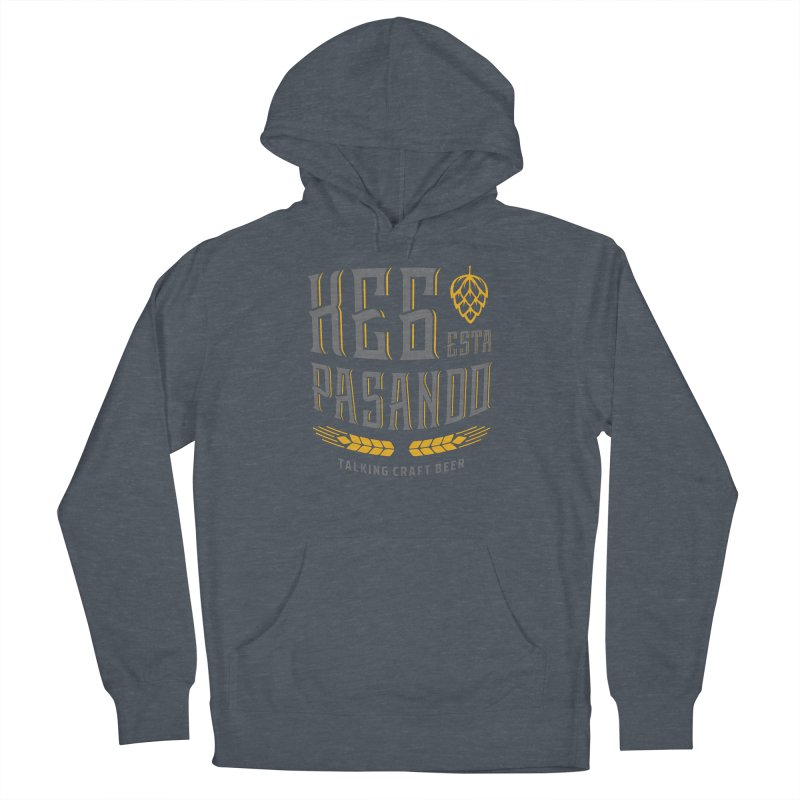 Kept Tagline (With hop) Men's French Terry Pullover Hoody by Talking Craft Beer Shop