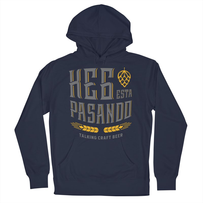 Kept Tagline (With hop) Women's French Terry Pullover Hoody by Talking Craft Beer Shop