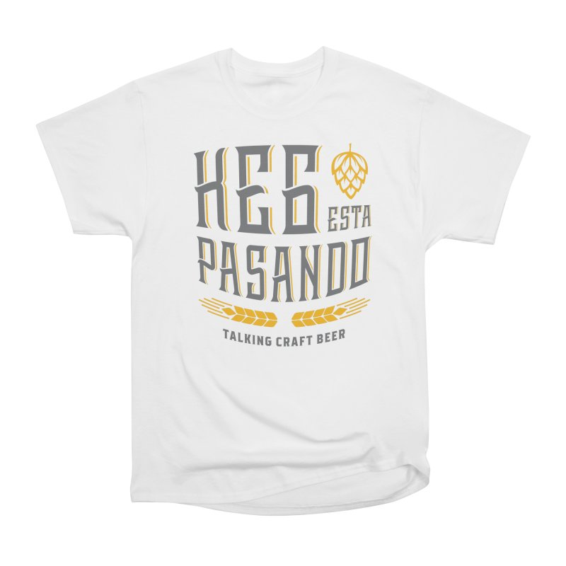 Kept Tagline (With hop) Men's Heavyweight T-Shirt by Talking Craft Beer Shop