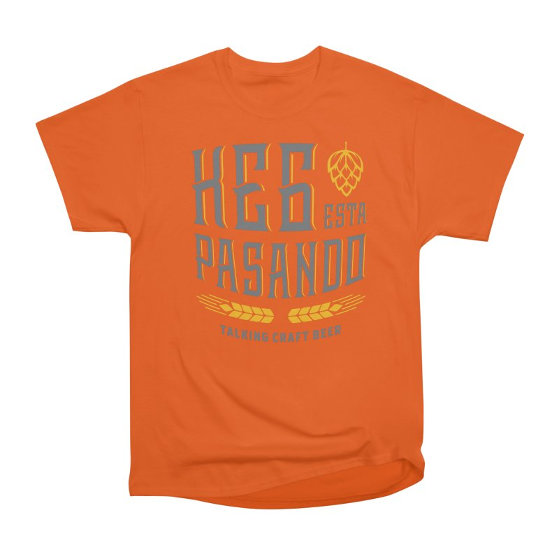 Kept Tagline (With hop) Men's T-Shirt by Talking Craft Beer Shop