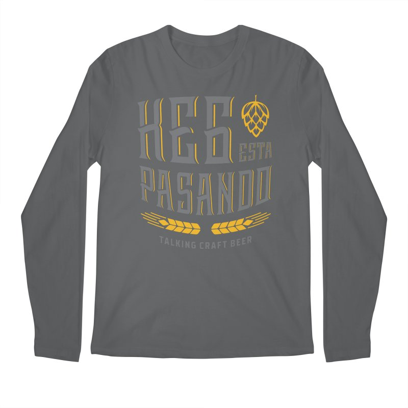 Kept Tagline (With hop) Men's Regular Longsleeve T-Shirt by Talking Craft Beer Shop