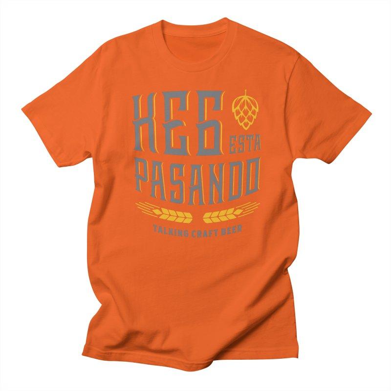 Kept Tagline (With hop) Men's Regular T-Shirt by Talking Craft Beer Shop