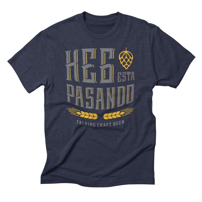 Kept Tagline (With hop) Men's Triblend T-Shirt by Talking Craft Beer Shop