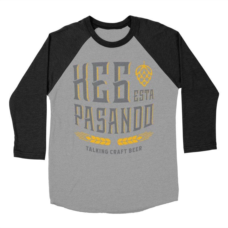 Kept Tagline (With hop) Women's Baseball Triblend Longsleeve T-Shirt by Talking Craft Beer Shop