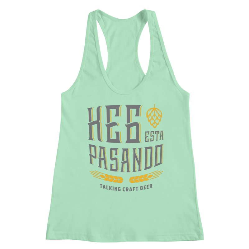Kept Tagline (With hop) Women's Tank by Talking Craft Beer Shop