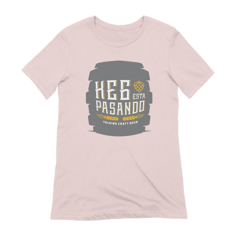 Kept Big Keg (with hop) Women's Extra Soft T-Shirt by Talking Craft Beer Shop