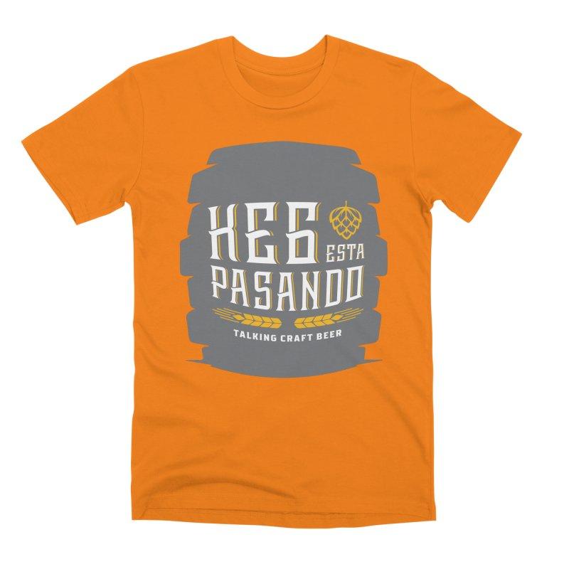 Kept Big Keg (with hop) Men's Premium T-Shirt by Talking Craft Beer Shop