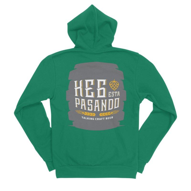 Kept Big Keg (with hop) Women's Sponge Fleece Zip-Up Hoody by Talking Craft Beer Shop
