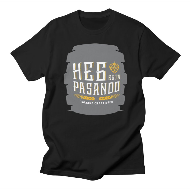 Kept Big Keg (with hop) Men's T-Shirt by Talking Craft Beer Shop