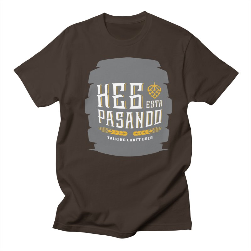 Kept Big Keg (with hop) Men's T-Shirt by Talking Craft Beer Shop