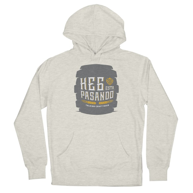 Kept Big Keg (with hop) Women's Pullover Hoody by Talking Craft Beer Shop