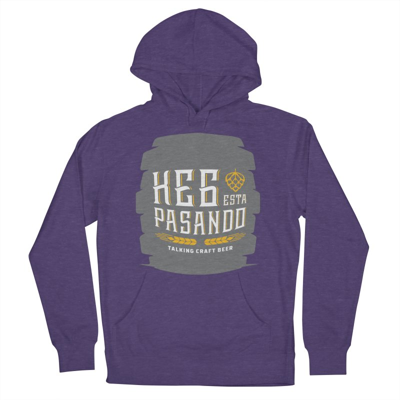 Kept Big Keg (with hop) Women's French Terry Pullover Hoody by Talking Craft Beer Shop