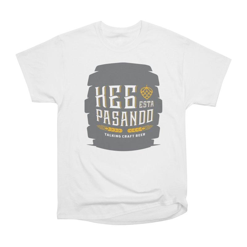Kept Big Keg (with hop) Men's Heavyweight T-Shirt by Talking Craft Beer Shop
