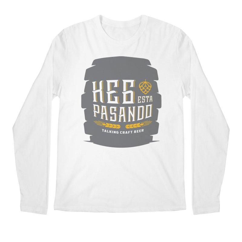 Kept Big Keg (with hop) Men's Regular Longsleeve T-Shirt by Talking Craft Beer Shop