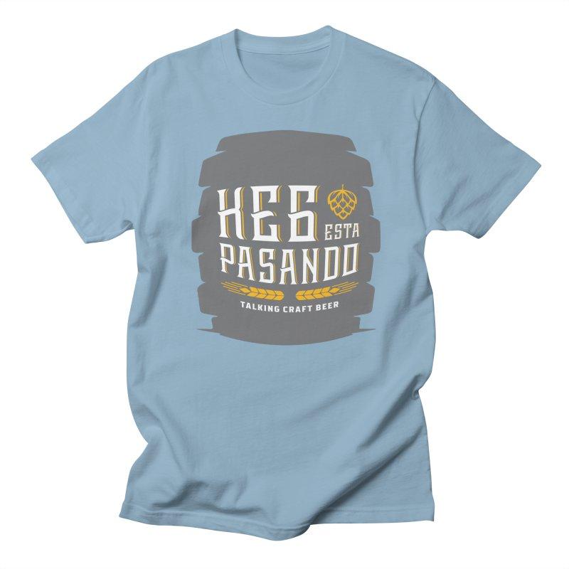 Kept Big Keg (with hop) Men's Regular T-Shirt by Talking Craft Beer Shop