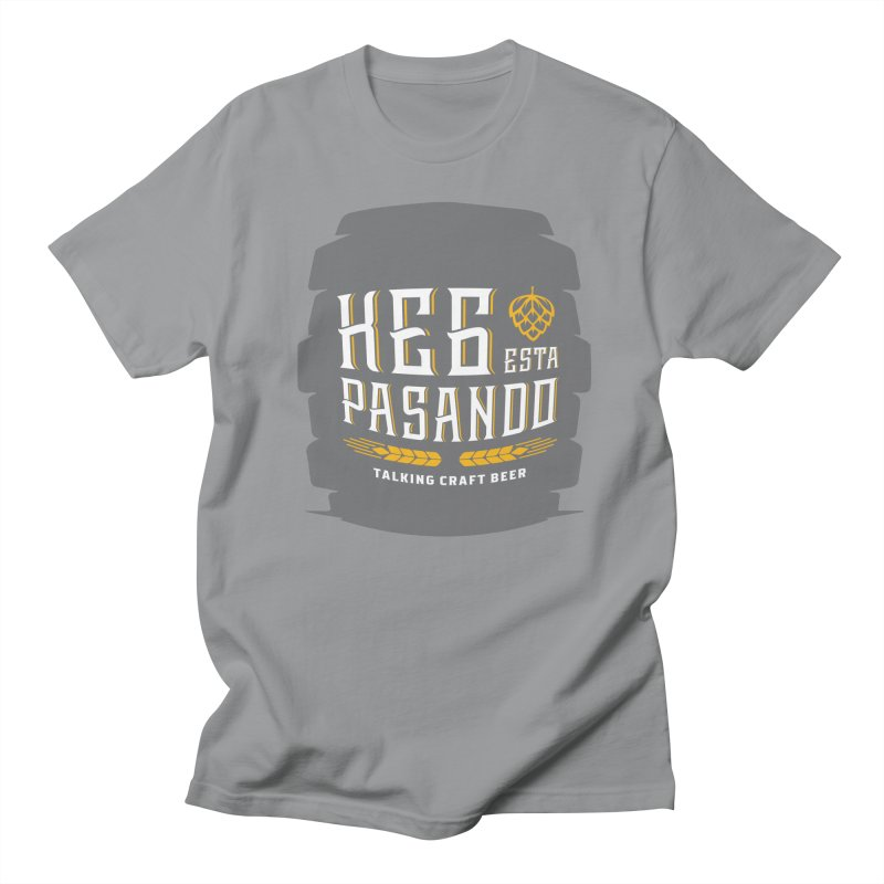 Kept Big Keg (with hop) Women's Regular Unisex T-Shirt by Talking Craft Beer Shop