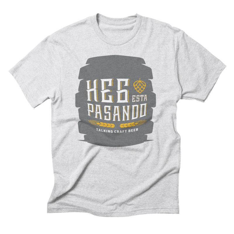 Kept Big Keg (with hop) Men's Triblend T-Shirt by Talking Craft Beer Shop