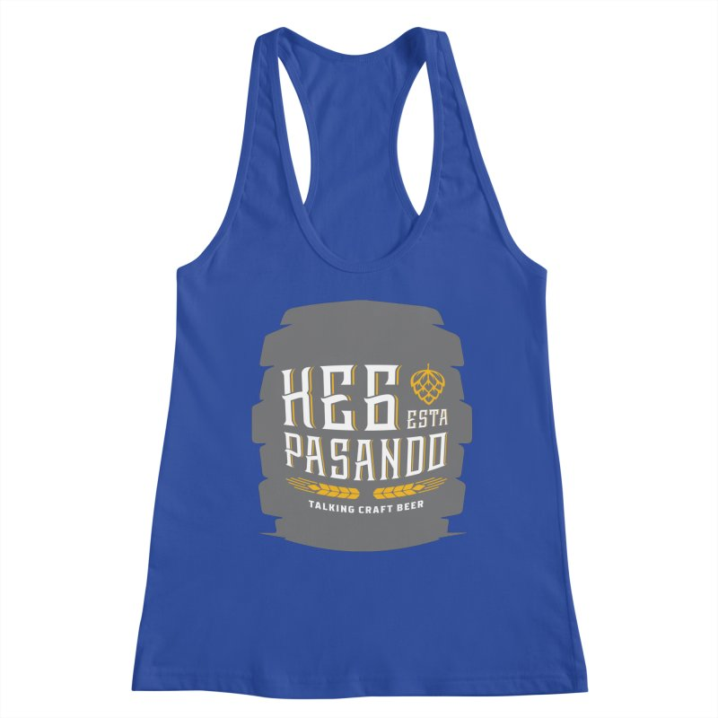 Kept Big Keg (with hop) Women's Tank by Talking Craft Beer Shop