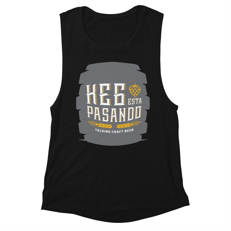 Kept Big Keg (with hop) Women's Muscle Tank by Talking Craft Beer Shop