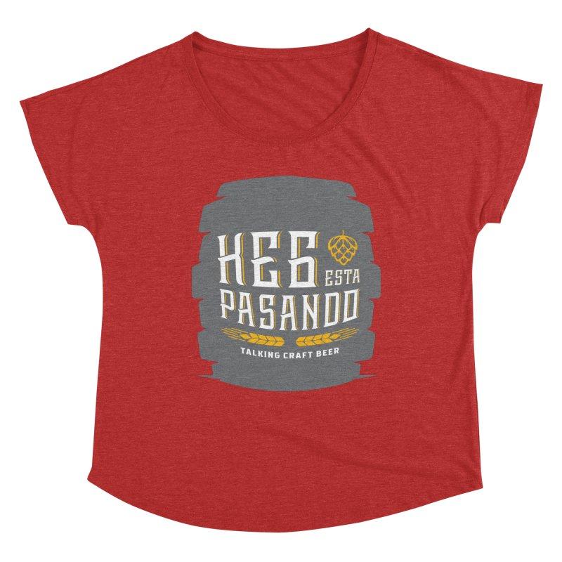 Kept Big Keg (with hop) Women's Scoop Neck by Talking Craft Beer Shop