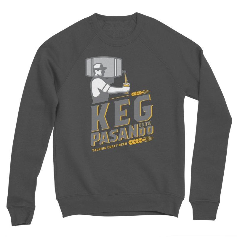 Kept Keg Pour (Grey) Women's Sponge Fleece Sweatshirt by Talking Craft Beer Shop