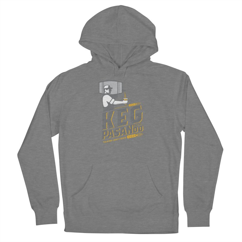 Kept Keg Pour (Grey) Women's Pullover Hoody by Talking Craft Beer Shop