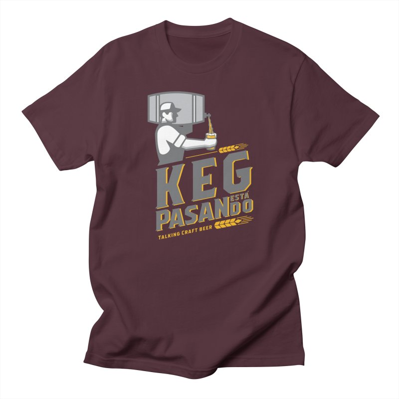 Kept Keg Pour (Grey) Women's T-Shirt by Talking Craft Beer Shop
