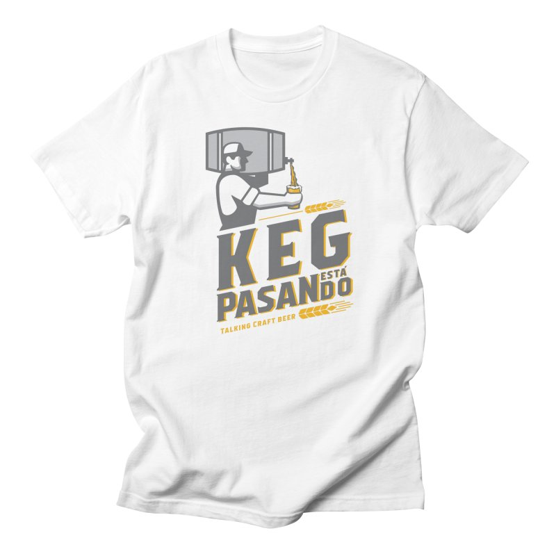 Kept Keg Pour (Grey) Women's Regular Unisex T-Shirt by Talking Craft Beer Shop
