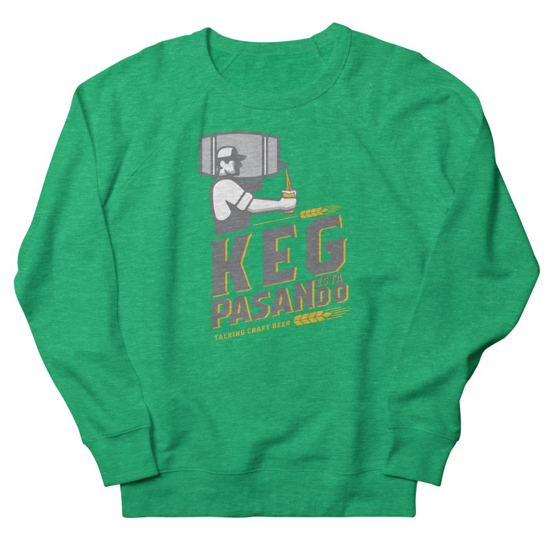 Kept Keg Pour (Grey) Women's Sweatshirt by Talking Craft Beer Shop