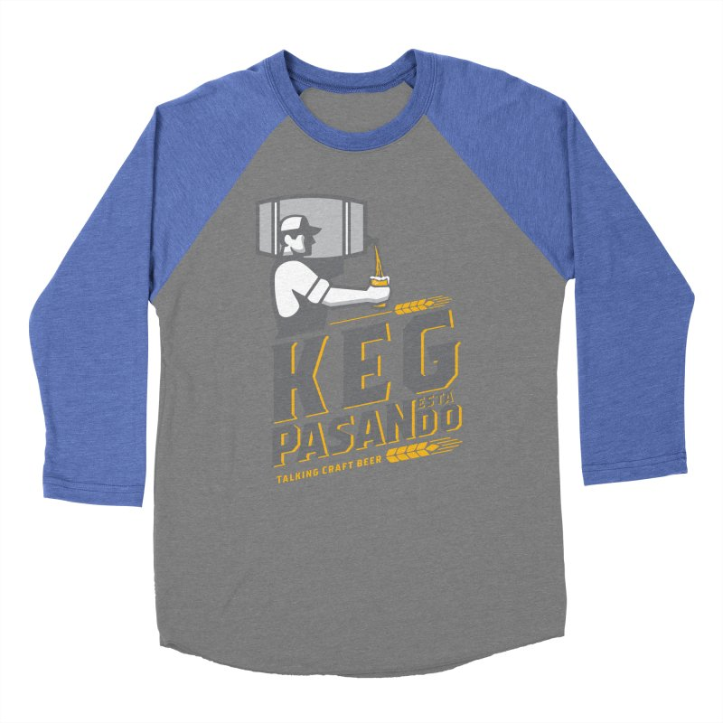 Kept Keg Pour (Grey) Women's Baseball Triblend Longsleeve T-Shirt by Talking Craft Beer Shop