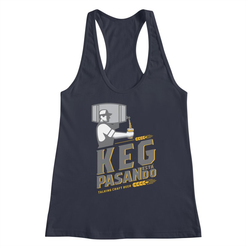 Kept Keg Pour (Grey) Women's Tank by Talking Craft Beer Shop