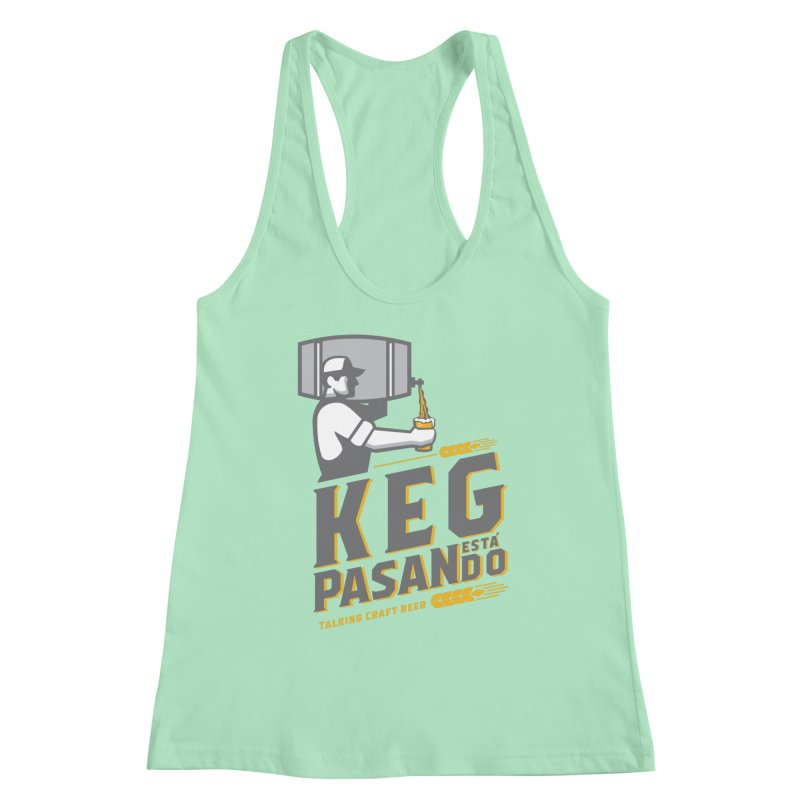 Kept Keg Pour (Grey) Women's Tank by Talking Craft Beer Shop